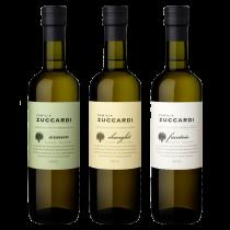 Aceites Varietales Zuccardi: 1 Fantoio + 1 Changlot + 1 Arauco