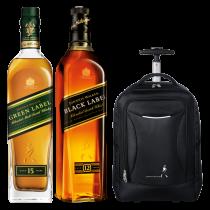 Johnnie Walker Green, Black Label + Mochila Carry on de regalo!