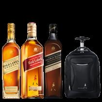 Johnnie Walker Gold Label Reserve, Red y Double Black + Mochila Carry On de regalo!
