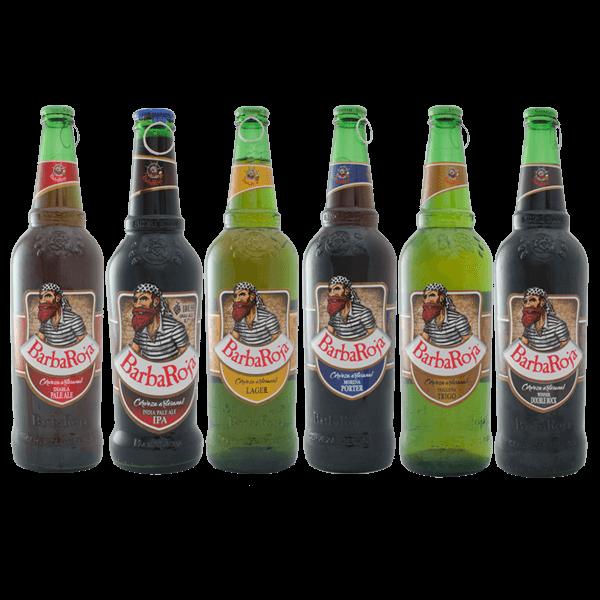Degustación de cervezas Barba Roja