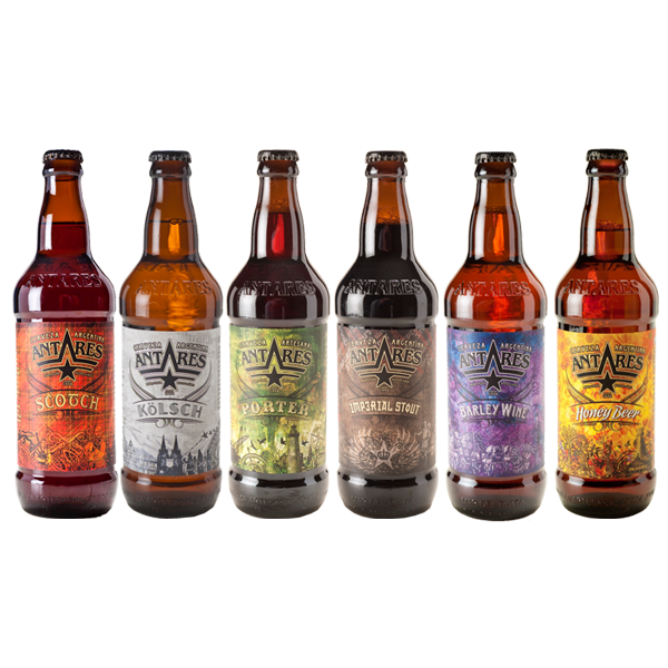 Degustación de cervezas Antares