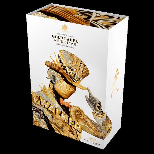 Johnnie Walker Gold Reserve + 2 vasos