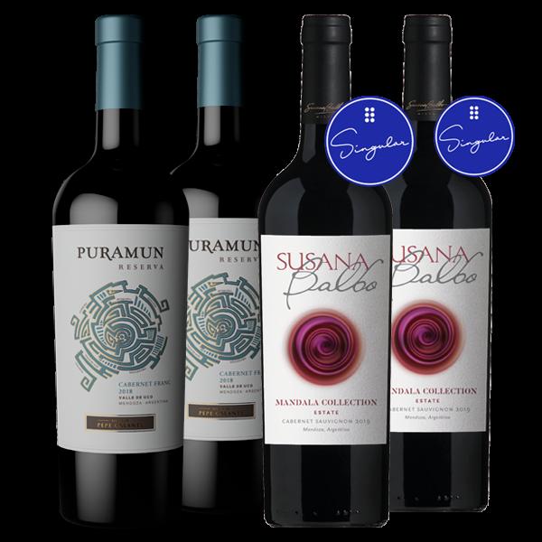 Puramun Cabernet Franc 2018 + Susana Balbo Mandala Collection Estate Cabernet Sauvignon 2019