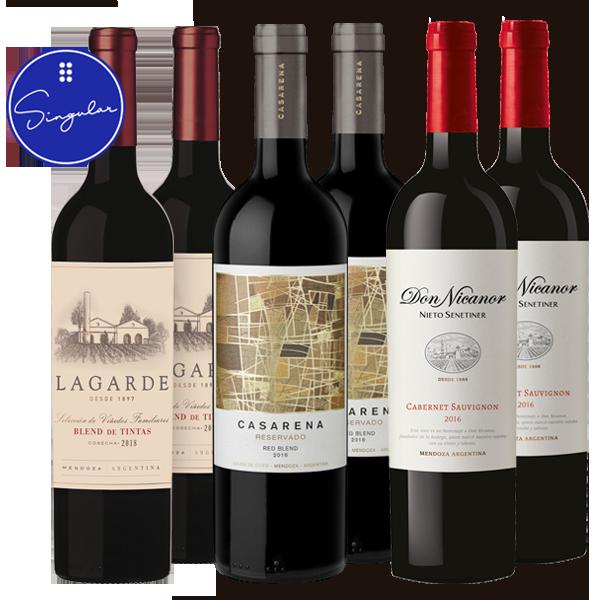 Casarena Reservado - Lagarde Blend de Tintas - Don Nicanor Cabernet Sauvignon