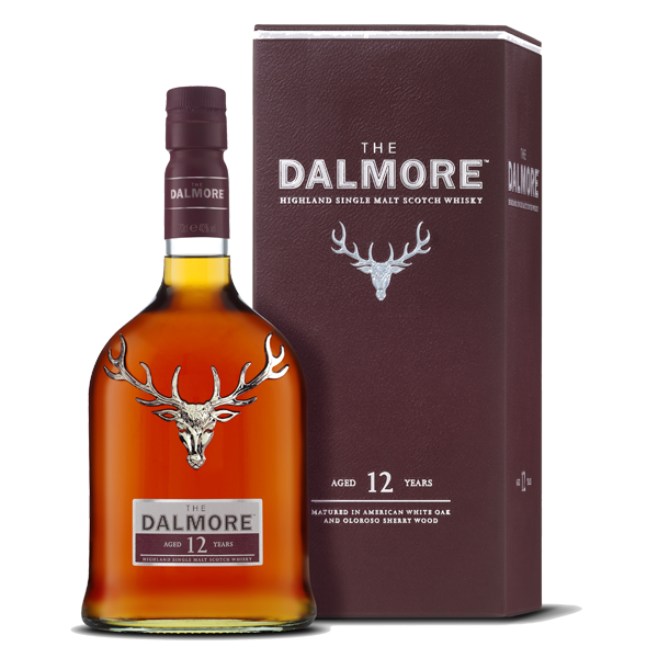 Whisky Dalmore single malt 12 años 700ml