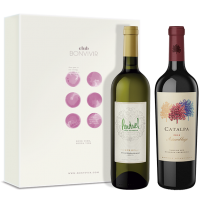 Perdriel Series Sauvignon Blanc 2017 + Catalpa Assemblage 2016 + Estuche para Regalo