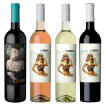 El Guardado Syrah, Chic Rosé Malbec, Chic Chardonnay Torrontés y Chic Cabernet Sauvignon