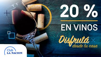 20% OFF en vinos con Club LA NACION
